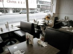 So, an astronaut walks into a diner..