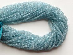 WHOLESALE 5 Strands Aquamarine Beads Aquamarine by gemsforjewels