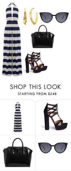 """""""Untitled #1354"""" by livy77 on Polyvore featuring Nadia Tarr, Aquazzura, Givenchy, Fendi and Lauren Ralph Lauren"""