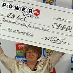 Julie Leach, Fiberglass Factory Employee, Wins $310.5 Million Powerball - NBC News
