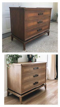 Diy Furniture Renovation, Diy Furniture Projects, Refurbished Furniture, Repurposed Furniture, Furniture Plans, Restore Wood Furniture, Painted Wood Furniture, Kitchen Furniture, Stain Furniture