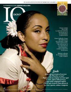 Sade For Revista IO Donna-Italia