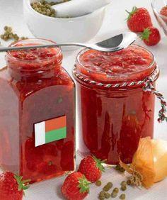 rezept-Erdbeer-Chutney nach madagassischer Art