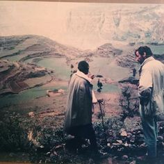 Found this cool pic of my dad taken in Ethiopia circa 1970, (he was the one on the right 💁🏽♂️)