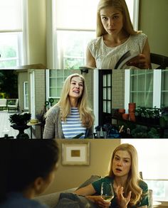 """""""To fake a convincing murder, you have to have discipline"""".... Rosamund Pike in 'Gone Girl'"""