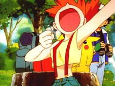"""Yelling is one of her strong suits. 32 Reasons Misty From """"Pokémon"""" Is The Very Best Sexy Pokemon, Pokemon Gif, Pokemon People, Ash Pokemon, Pokemon Memes, Pokemon Funny, Cool Pokemon, Pikachu, Pokemon Ash And Misty"""