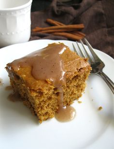 """A """"warm you up"""" winter dessert. I have fond memories of this Vanilla Sauce. My mother would serve it over a warm slice of spice or applesauce cake. It was delicious and comforting. I was always lef..."""
