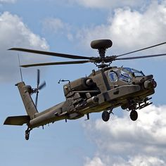 British Army Air Corps WAH-64D Longbow Apache AH1 Helicopter