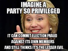 Image result for Criminal Hillary wins election