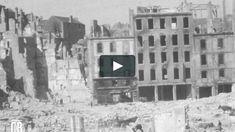 """Saint-Malo 1944 / Vimeo  """"L'empreinte de l'Attila"""" est un film réalisé par Emile Gaudu en 1945, en 16 mm. Ces images tournées dès la fin de la seconde guerre mondiale permettent de constater à quel point les bombardements ont détruit la ville. Ici Saint-Malo et les communes environnantes ne sont plus que ruines et désolation. France, Images, Entertaining, Point, Travel, Outdoor, Illustrations, Brittany, World War Ii"""