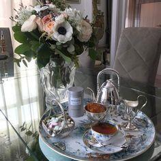 Утренний чай ☕️#рубрикамоизавтраки #аппетитасовсемнет #готовлюнеобычныйкрасивыйпроект