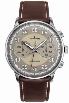 Junghans Meister Driver Sand Colored Dial 027/3684.00