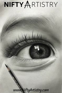 NEW Detailed & Realistic Eye Drawing Tutorial. Want to start Sketching, Drawing, and Creating? **Tap the image and get yourself a brand NEW Drawing Set. Eye Pencil Drawing, Realistic Eye Drawing, Drawing Eyes, Pencil Art Drawings, Art Drawings Sketches, Love Drawings, Graphite Drawings, Eye Drawing Tutorials, Drawing Techniques