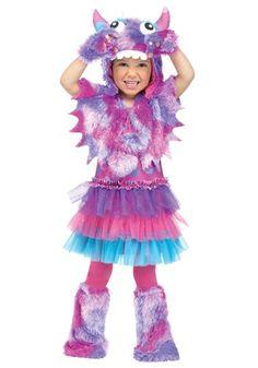 Toddler Polka Dot Monster Costume