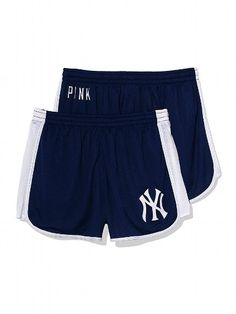 PINK New York Yankees Mesh Campus Short #VictoriasSecret http://www.victoriassecret.com/pink/new-york-yankees/new-york-yankees-mesh-campus-short-pink?ProductID=109316=OLS?cm_mmc=pinterest-_-product-_-x-_-x