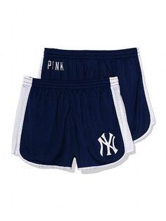 PINK New York Yankees Mesh Campus Short #VictoriasSecret http://www.victoriassecret.com/pink/new-york-yankees/new-york-yankees-mesh-campus-short-pink?ProductID=109316=OLS?cm_mmc=pinterest-_-product-_-x-_-x
