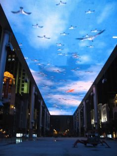 The Place, Beijing Skyscreen, Beijing, China #electrosonic #entertainment