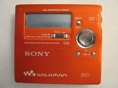 Sony Walkman MD MiniDisc Model MZ-R909