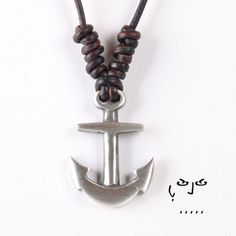 For Safety in the Seas. VujuWear Pewter Mariner's Cross Men's Leather Necklace, $14.99 #VujuWear #LeatherNecklace ~~~ SHOP NOW FOR 30% OFF OUR ENTIRE COLLECTION. USE CODE VUJUPN30. ~ VujuWear
