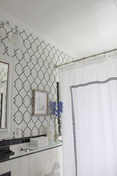 wallpaper: http://www.wallsrepublic.com/black-and-white-lattice-wallpaper-p/r2548-parent.htm