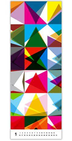pattern poster wrapping paper calendar #kapitzageometric