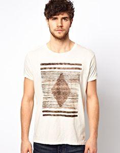 Scotch & Soda T-Shirt With Ethnic Print