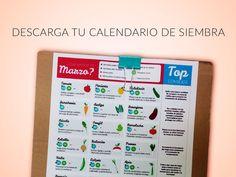 calendario de siembra de marzo