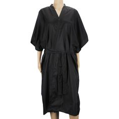 Segbeauty Spa Massage Robe for Beauty Salon, Kimono Robe for Women, Black Smock Cape Dress on Hair Dye Shampoo Makeup, Client Apparel Uniform or Lab Gown ** Check this useful article by going to the link at the image. #hairnourishing