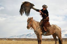 Once united with his horse and trusty hunting eagle, a man stops being merely and man, and becomes a god.
