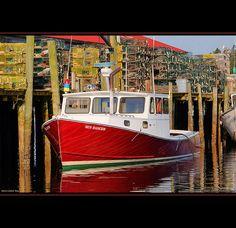 Maine Lobster Boat, Acadia