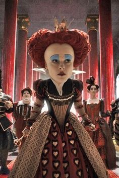 Alice in Wonderland (2010).   Based on the novel Alice's Adventures in Wonderland by Lewis Carroll (1865).  (Adored the book.)