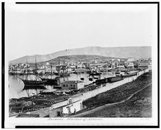 The port of Piraeus, 1850 - Photographs of Athens in the Late 19th and Early 20th Century Best of Web Shrine