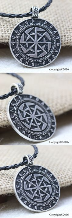 Aliexpress.com : Buy 1pcs Kolovrat Sllavics Amulet Pendant Necklace Sun Wheel Sllavics amulet Necklace Talisman Pagan Jewelry from Reliable pagan jewelry suppliers on My Style, My Dream
