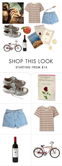 """Call me by your name and I'll call you by mine"" by vanessxox ❤ liked on Polyvore featuring Converse and Schwinn"