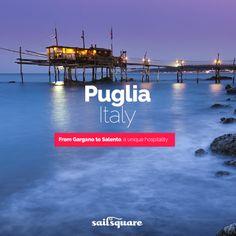 #Puglia #Italy #sailing  www.sailsquare.com