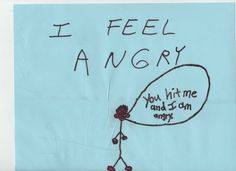 A great activity for kids with self-control challenges is to have them draw cartoons of their feelings. All feelings (e.g., angry) are fine although some behaviors currently related to their anger (e.g., biting) are not