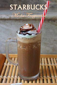 YUMMY TUMMY: Starbucks Mocha Frappuccino Recipe