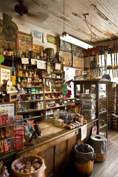 Country store. I would love to shop here... It's the real deal...Fun!