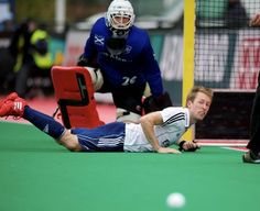 Barry Middleton in action for East Grinstead at the Euro Hockey League KO16 2011-2012 (Photo: Frank Uijlenbroek)