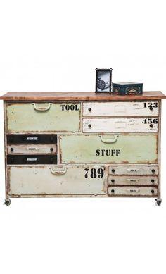 kommode aus holz in antikoptik b 59 cm lazare m bel. Black Bedroom Furniture Sets. Home Design Ideas