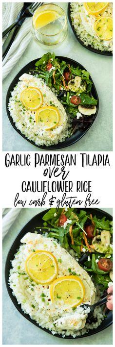 Garlic Parmesan Tila
