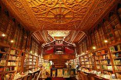 Livraria Lello in Porto, Portugal | 17 Bookstores That Will Literally Change Your Life