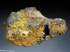 Mimetite / Brown Monster mine, Inyo Co., California, United States