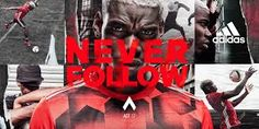 Image result for adidas never follow