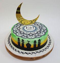 Ramadan, Eid Cake, Eid Food, Food Artists, Cupcake Cookies, Cupcakes, Eid Al Adha, Unique Cakes, Cake Art