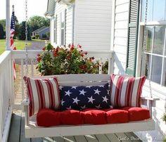 Patriotic Porch Decor !
