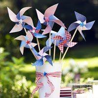 Cute DIY pinwheels