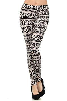 Pharaoh's Tribal Leggings #worldofleggings #leggings #tribal