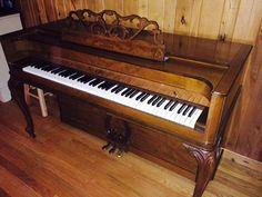 Very pretty, older Baldwin Acrosonic piano