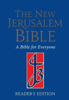 The New Jerusalem Bible is recognised as one of today's most accurate, clear and modern translations, the fruit of long collaboration between leading biblical scholars. Jerusalem Bible, New Jerusalem, International Bible, Bible Reader, Library Locations, Nonfiction Books, New Books, Texts, Religion